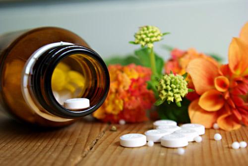 Homöpathie-Therapie